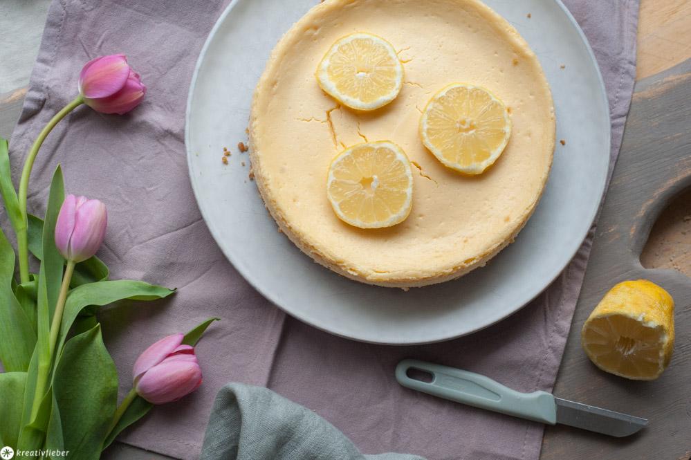 Zitronenpie mit Kondensmilch