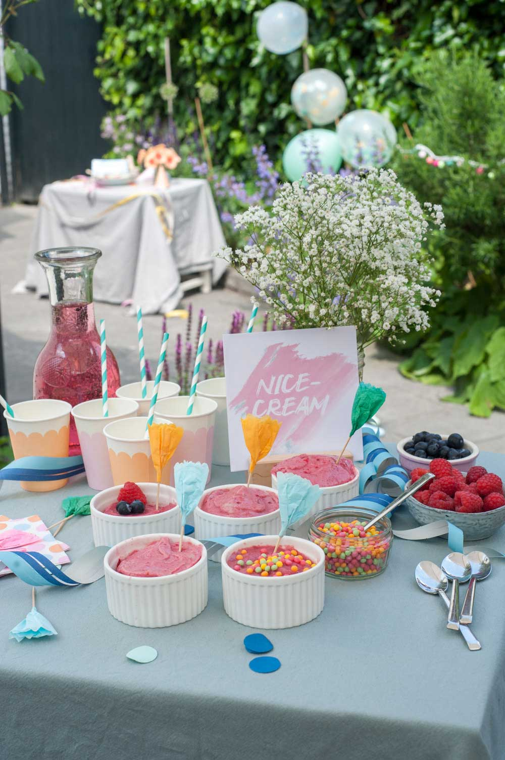 Kinderparty Sweettable
