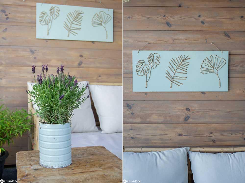 Loungeecke Garten Gartenkunst Gartenbild DIY