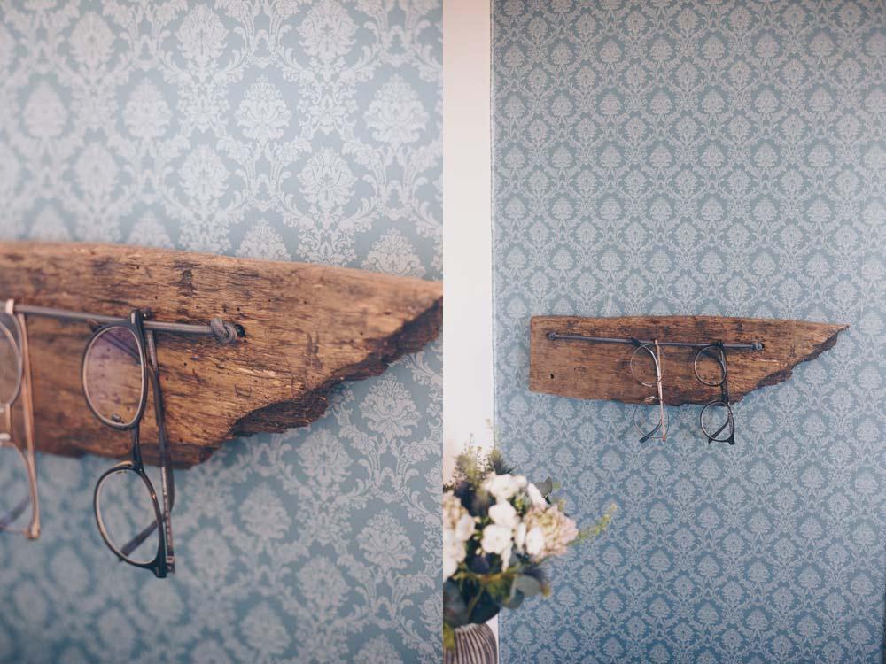 DIY Brillenaufhängung - Upcycling Idee aus altem Holz - Ordnung DIY