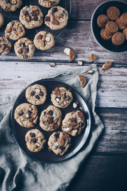 Nuts & Cream Cookies mit Mandelmus backen Rezeptidee
