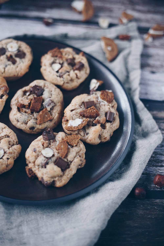 Nuts & Cream Cookies mit Mandelmus backen