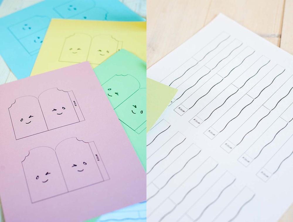 Printable Verpackungsideen zum Austeilen Geburtatag