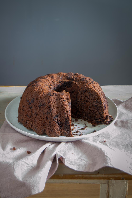 Rezept schneller Schokoladen Guglhupf