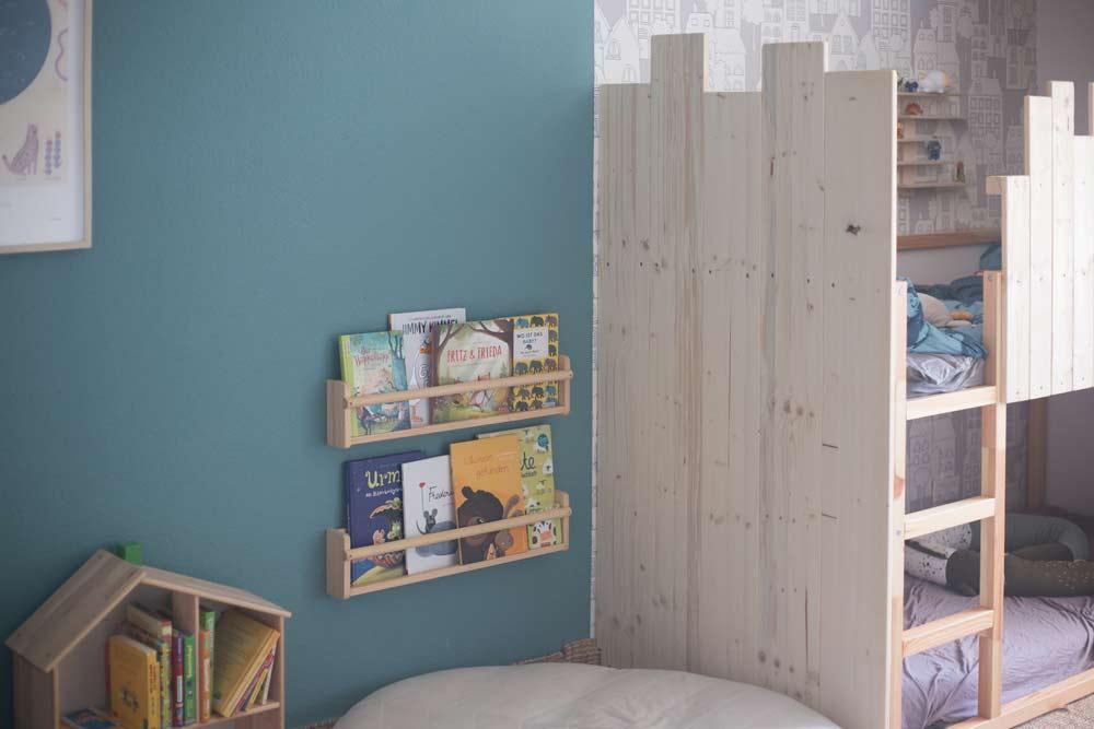 DIY Kinderzimmer Make Over mit DIY Etagenbett selberbauen für Geschwister