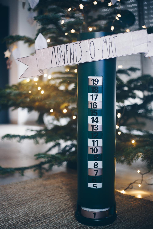 DIY Adventskalender Automat selbermachen